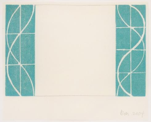 Robert Mangold, Untitled Greeting Card, 2004