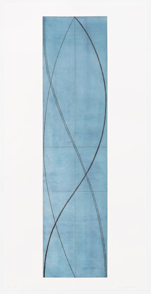 Robert Mangold, Half Column A, 2005