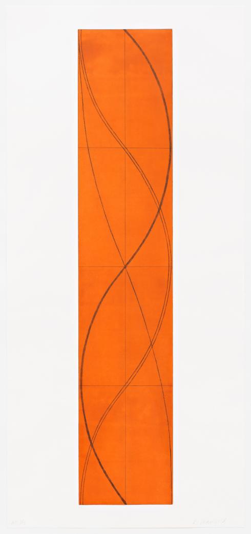 Robert Mangold, Half Column B, 2005