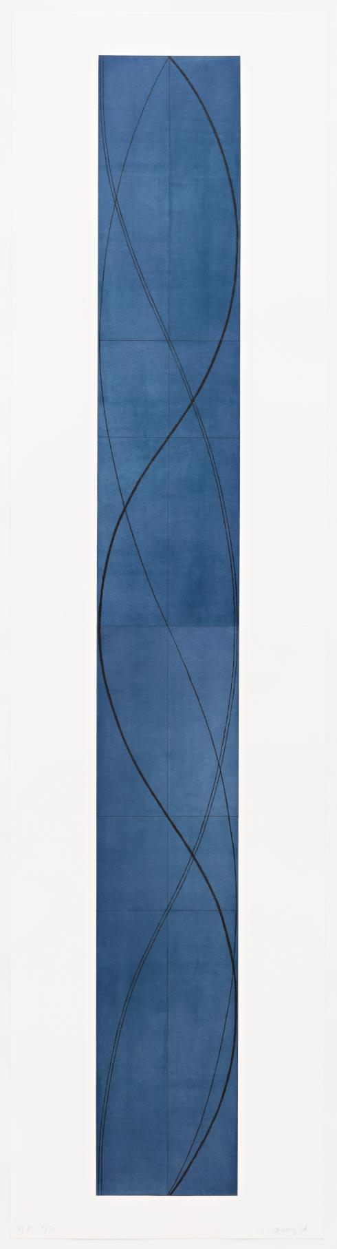 Robert Mangold, Tall Column A, 2005