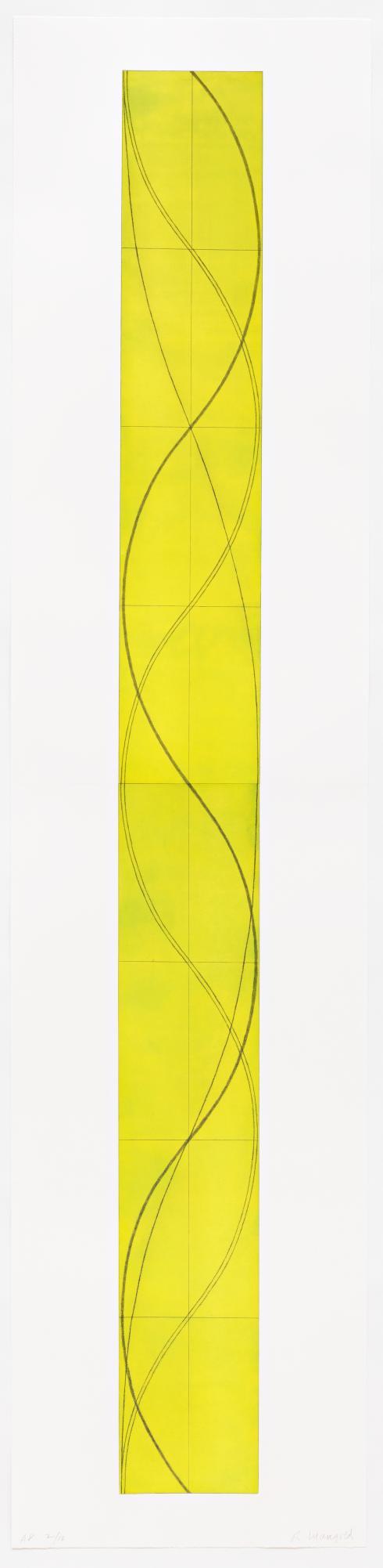 Robert Mangold, Tall Column B, 2005