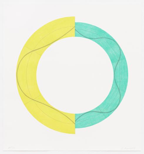 Robert Mangold, Split Ring Image A, 2009