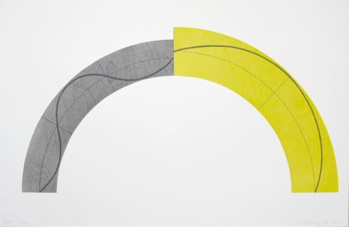 Robert Mangold, Divided Arc, 2010