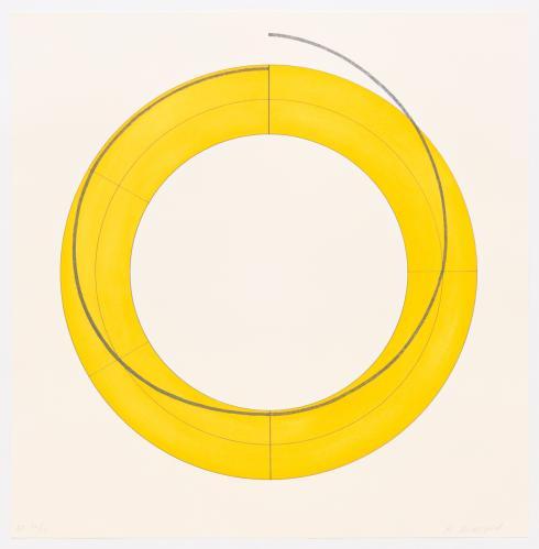 Robert Mangold, Ring Image A, 2010