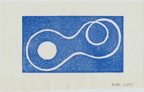 Robert Mangold, Untitled Greeting Card, 2015