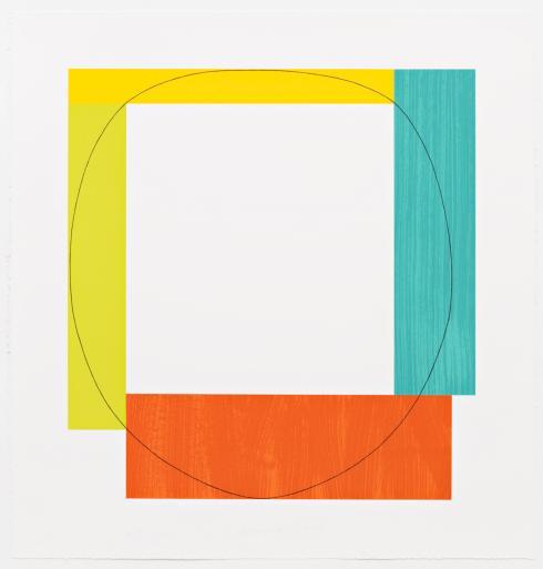 Robert Mangold, Four Color Frame, 1984