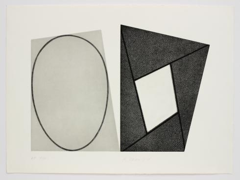 Robert Mangold, C, from Frames & Ellipses, 1988