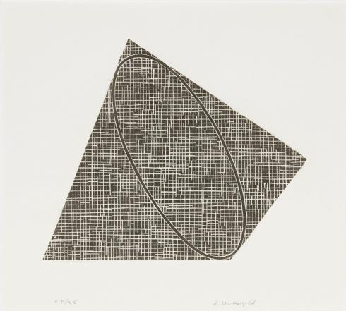 Robert Mangold, Untitled II, 1990