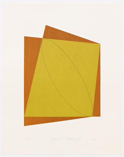 Robert Mangold, Untitled, 1990