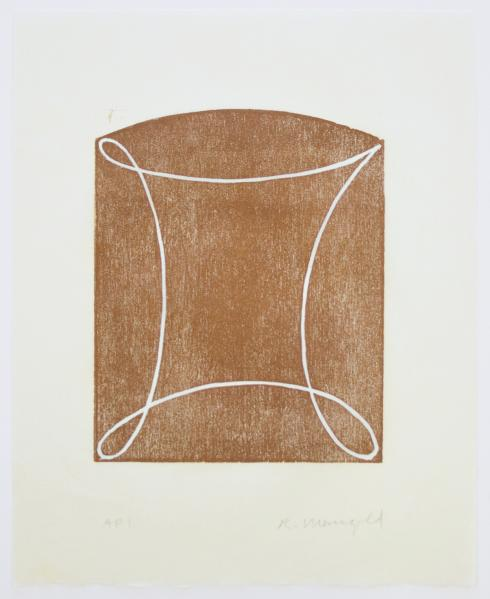 Robert Mangold, C [Brown], 1994