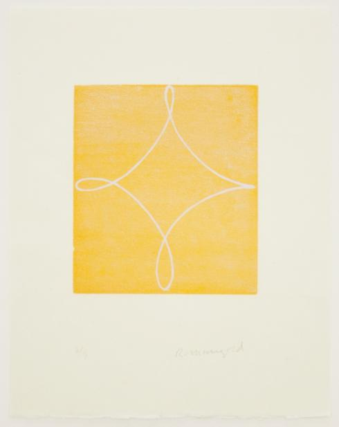 Robert Mangold, Color State A [Yellow], 1994