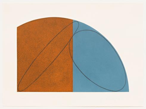 Robert Mangold, Untitled (Artists Space Benefit), 1995
