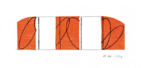 Robert Mangold, Untitled Greeting Card, 1996