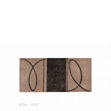 Robert Mangold, Untitled Greeting Card, 1999