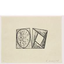 Robert Mangold, C, from Seven Original Woodcuts, 2000
