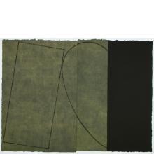 Robert Mangold, Varied Figure Zone (2-part), 2000