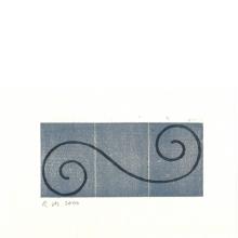 Robert Mangold, Untitled Greeting Card, 2000