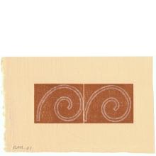 Robert Mangold, Untitled Greeting Card, 2001