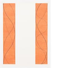 Robert Mangold, Two Columns, B, 2004