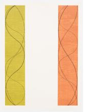 Robert Mangold, Two Columns, C, 2004