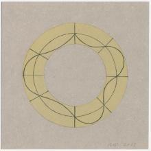 Robert Mangold, Untitled Greeting Card, 2007