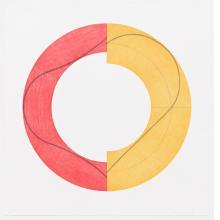 Robert Mangold, Split Ring Image C, 2009