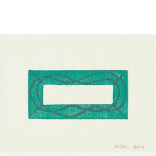 Robert Mangold, Untitled Greeting Card, 2013