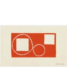 Robert Mangold, Untitled Greeting Card, 2016