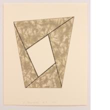 Robert Mangold, Grey Frame, 1988