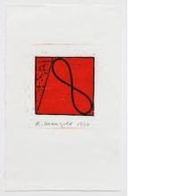 Robert Mangold, Untitled Greeting Card