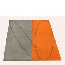 Robert Mangold, III, from Plane / Figure Series, Folded, 1993