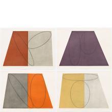 Robert Mangold, Plane / Figure Series, Folded, 1993