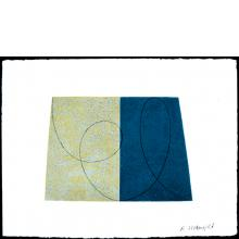Robert Mangold, Untitled [GT/RM 1-94 W-5], from Drawing With Monotype Background, 1994