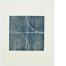 Robert Mangold, B [Prussian Blue], 1994