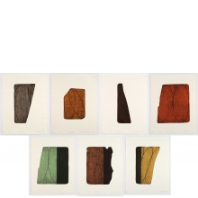 Robert Mangold, Fragments (I-VII), 1997